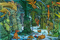 Ian Miller | The Hall of Bright Carvings