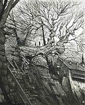 Ian Miller | The Gormenghast Tree