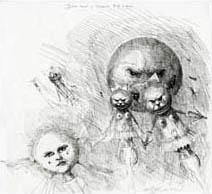 Ian Miller | Dark Night in Toyland