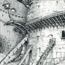 Ian Miller | Shrek: The Castle interior 1