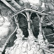 Ian Miller | Shrek: The Castle interior 2