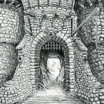 Ian Miller | Shrek: The Castle Gate with Drawbridge