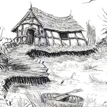 Ian Miller | Shrek: Swamp House with Willows