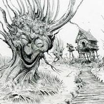 Ian Miller | Shrek: Swamp House with Closer Willows