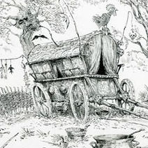 Ian Miller | Shrek: The Witch's Caravan in the Forest