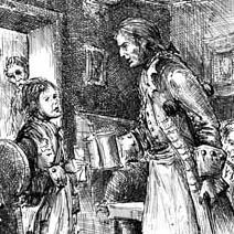 Ian Miller | Jim meets Long John Silver in the Spyglass Inn
