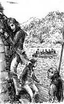 Ian Miller | Jim leaving the Hispaniola