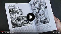 Ian Miller | Page turning of The Art of Ian Miller