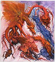 Ian Miller | Gaial, the Green Dragon