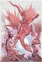 Ian Miller | Meer, the Blue Dragon