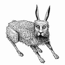 Ian Miller | Rabbits, study sheet 3