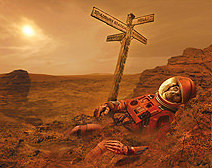 Jim Burns   Ten Minutes on Mars