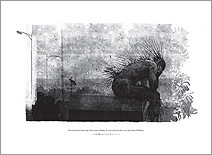 Jim Kay | Print No. 3: The monster sitting on the shed
