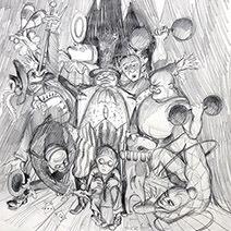 Jim Kay | The Toymaker sketch 1