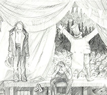 Jim Kay | The Toymaker sketch 2