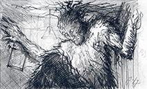 Jim Kay | A Monster Calls 10