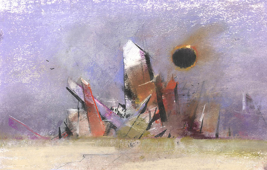 John Harris | Crystal Group with Eclipse