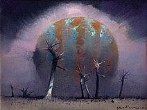 John Harris   Harvest – painting