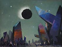John Harris   The Exile – painting