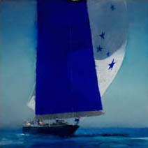 John Harris | Blue Sail