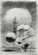 John Harris | Armies of Memory sketch 2