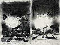 John Harris | Mercury, sketches 1 and 2