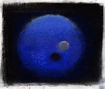 John Harris | Blue Moon with Satellite