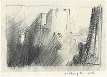 John Harris | Scaling the Wall, first sketch