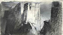 John Harris | Scaling the Wall, second sketch