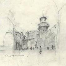 John Harris | A Street inside the City