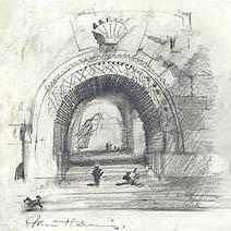 John Harris | The Gate of the Moon, pencils