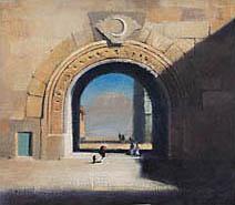 John Harris | The Gate of the Moon, oils