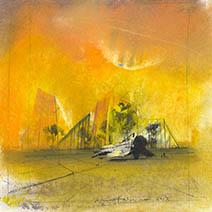 John Harris | Survival, sketch 1