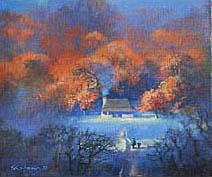 John Harris | Firelight and Woodsmoke