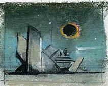 John Harris | The Second Sun, second study