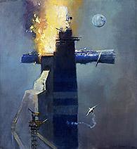 John Harris | Fire at the Blue Terminus