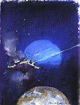 John Harris | Neptune, sketch