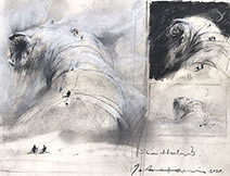 John Harris | Shai-Hulud, first page of sketches