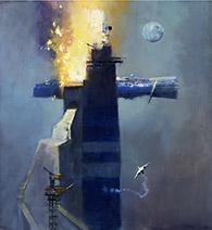 John Harris   Fire at the Blue Terminus