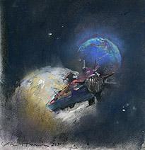 John Harris | Neptune, sketch 2