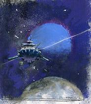 John Harris | Neptune, sketch 3