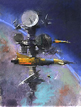 John Harris | The Sentinels, sketch 2