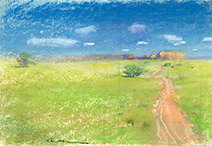 John Harris | The Ukimwi Road, sketch