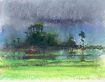 John Harris | One Foot in Laos, sketch
