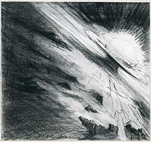 John Harris   Footfall, sketch 1
