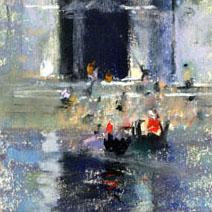 John Harris   Venice pastels