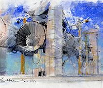 John Harris | Spindrift sketch 1
