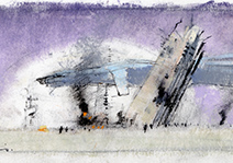 John Harris | After the Coup sketch