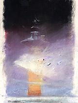 John Harris | Driftglass pastel sketch