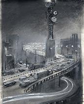 John Harris | Phillips - the city sketch